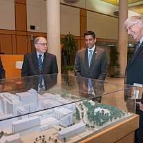 Congressman Ro Khanna visits NIH