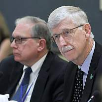 Dr. Francis Collins at ACD meeting