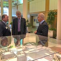 Congressman Bill Flores Visits NIH