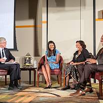NIH hosts event to honor Rep. Louis Stokes Fireside Chat