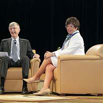 NIH Fireside Chat with Valerie Jarrett.