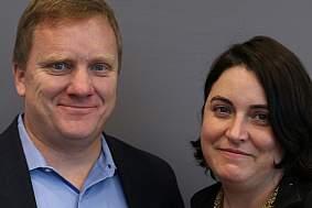 Kirk Leach and Danielle Leach