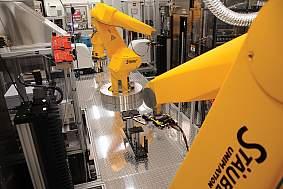 DNA sequencing robot.