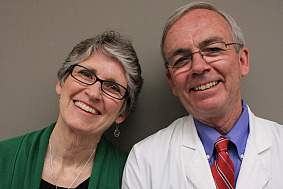Beverly Byram and Steve Raffanti