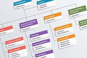 Organization chart.