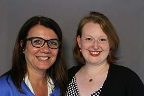 Sheryl Zwerski and Elizabeth Flanagan