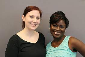 Kristen Cole and Anita Oko-Odoi