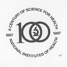 NIH logo used from 1986-1987.