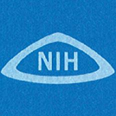 NIH logo instituted in 1969.