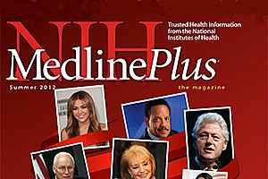 Cover of MedlinePlus magazine.