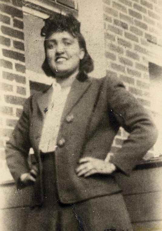 Portrait of Henrietta Lacks.