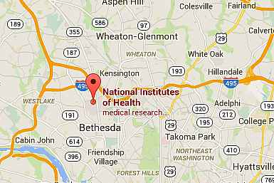 Getting to NIH National Institutes of Health NIH