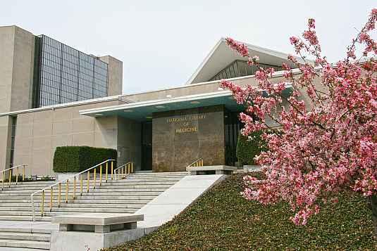 National Library of Medicine entrance