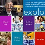 Screenshot of Explore NIH virtual tour