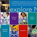 Screenshot of Explore NIH virtual tour
