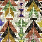 Shawnee Indian Bead Artwork from the 1830s.