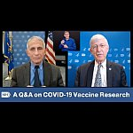 Dr. Fauci and Dr. Collins on Facebook live