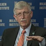 Image of Dr. Collins Dr. Collins at the Milken Institute Global Conference