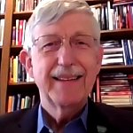 screen capture of Dr. Francis Collins