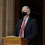 Dr. Collins participates in a vaccine confidence event at the Washington National Cathedral