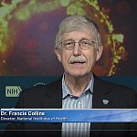 Dr. Francis Collins during Space Chat.