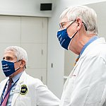 Drs. Collins and Fauci join Mary Louise Kelly on NPR All Things Considered to reflect on the year anniversary of the pandemic