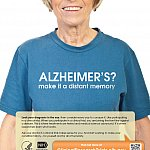 """Alzheimers? Make It a Distant Memory."" poster"