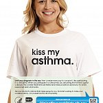 """Kiss My Asthma."" poster"
