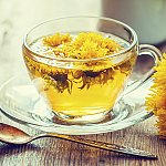 A cup of dandelion tea
