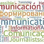 Communications word cloud