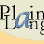 Cropped screenshot of the Plainlanguage.gov banner.