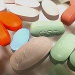 Image of antiretroviral drug pills
