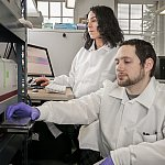 Researchers using the RT-QuIC diagnostic assay