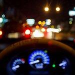 Image of a car steering wheel.