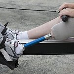 Image of a prosthetic leg