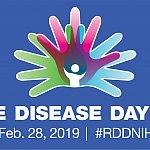 Rare Disease Day at NIH logo.