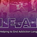 Graphic representing HEAL: NIH - Helping to End Addiction Long-term