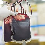 Blood transfusion bags