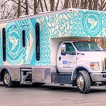 Image of a health clinic vehicle