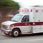 Speeding ambulance.