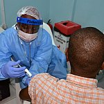 Ebola vaccine injection