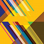 Abstract color stripe pattern background.