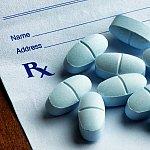 Pills on a prescription form.