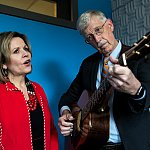 NIH Director Francis Collins and Renée Fleming