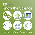 NCCIH Know the Science logo