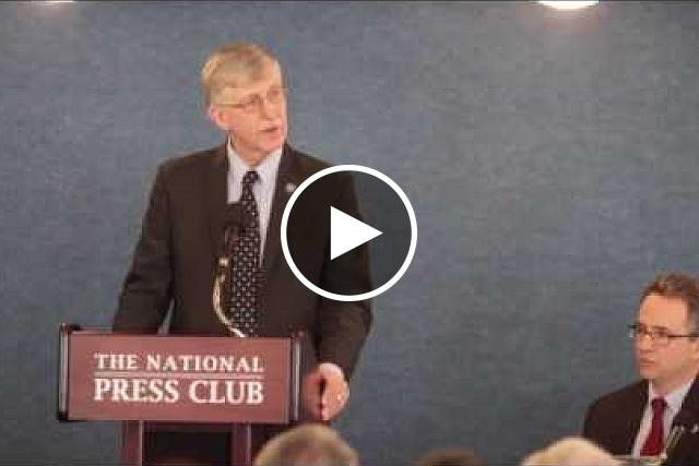 Announcement of the Accelerating Medicines Partnership at the National Press Club in Washington, D.C. Tuesday, Feb. 4, 2014.