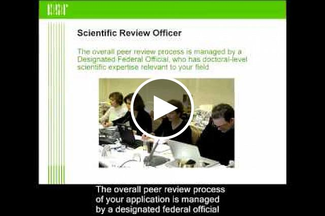 This video shows how outside experts assess grant applications and how review meetings are conducted to ensure fairness.