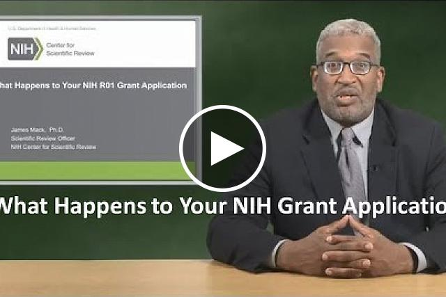 Watch one of our popular outreach presentations and get insights into how your NIH grant application is processed and reviewed so you enhance and advance your application in NIH peer review.