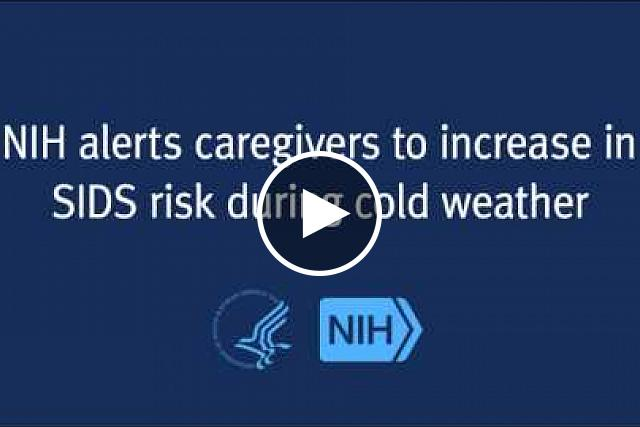 An advisory on how to reduce the risk of SIDS during the winter months.