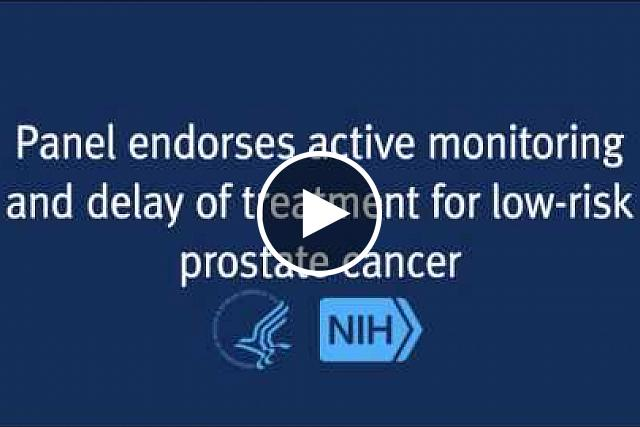 For men diagnosed with localized, low-risk prostate cancer, a strategy of close monitoring and delayed treatment may be a better option than immediate surgery or radiation therapy.